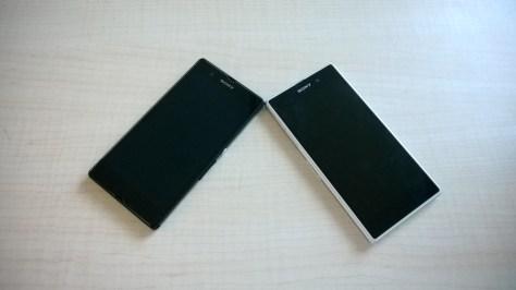 The Z1 next to it's predecessor - the Z