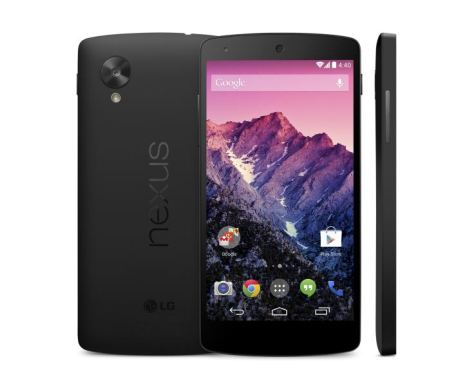 Nexus 5 - trio - black_575px