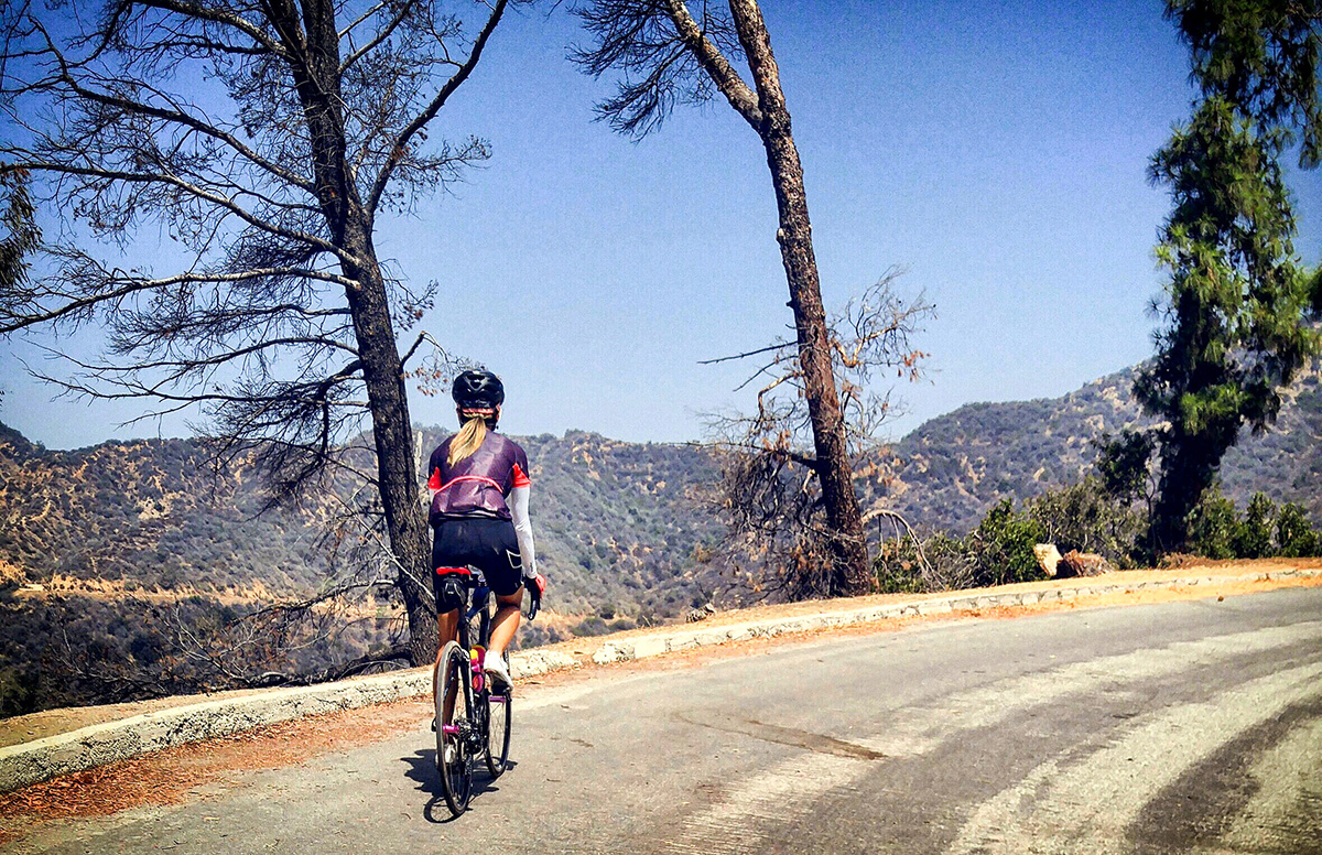 morning rides @ griffith's park in LA