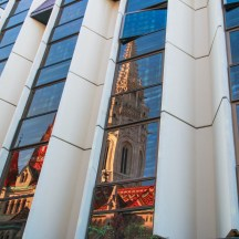 Reflections of Matthias Church