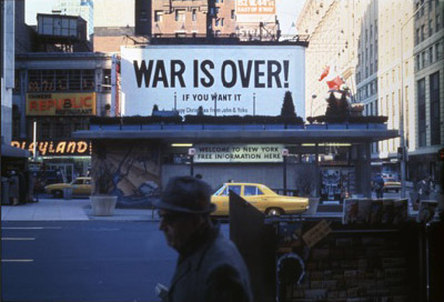 War is Ovdr Times Sq 1969