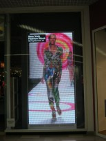video shot Desigual window