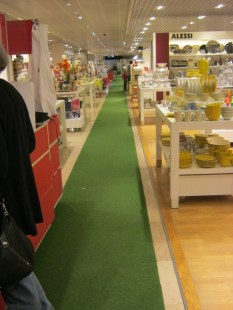 Walking the green line