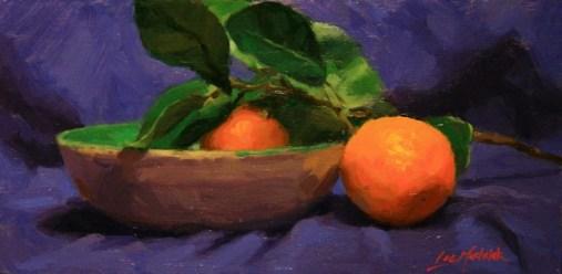 Blue and orange, Lee Machelak