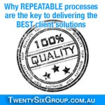 [TA52] Why repeatable processes are the key to delivering the best client solutions