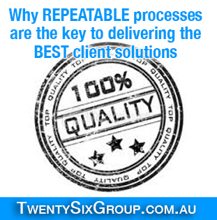 repeatable processes are the key to best client solutions