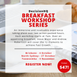 DecisionHQ Breakfast Workshop Series