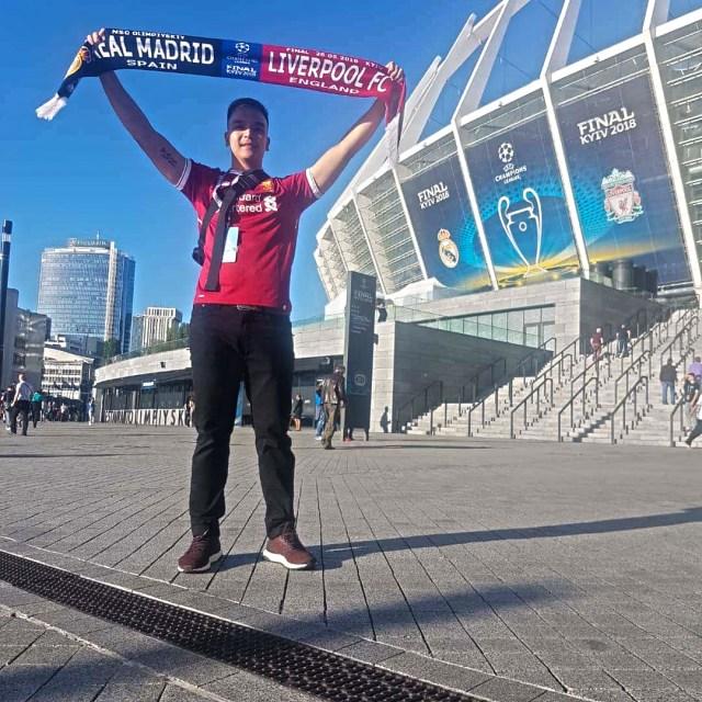 Ben@stadium