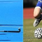 Hockey and football