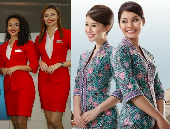 Malaysia airlines uniforms