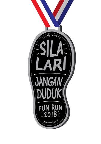 Sila Lari Jangan Duduk medal