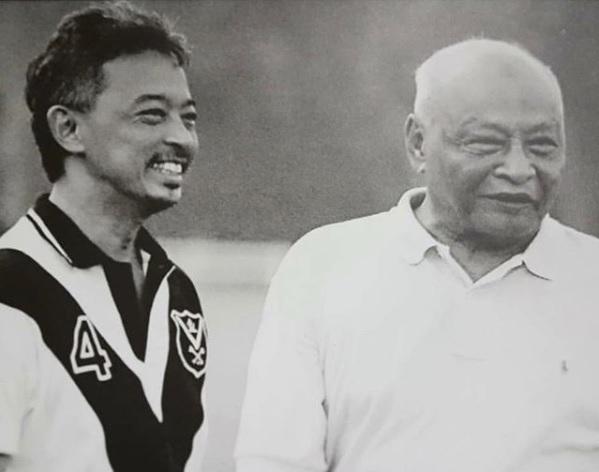 Tengku Abdullah and Sultan Ahmad Shah