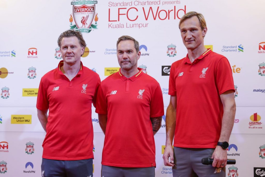 Former Liverpool footballers