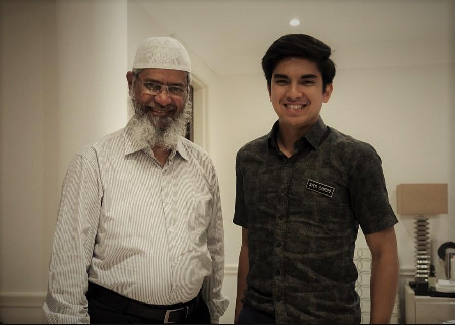 Syed Saddiq and Zakir Naik