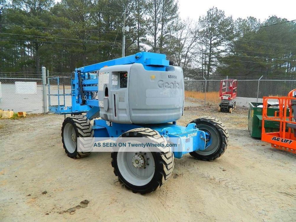 medium resolution of 2004 genie z 45 25 aerial boomlift manlift 4wd dual fuel man lift boom lift