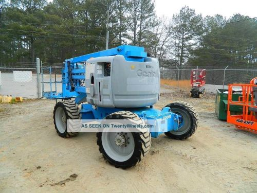 small resolution of 2004 genie z 45 25 aerial boomlift manlift 4wd dual fuel man lift boom lift
