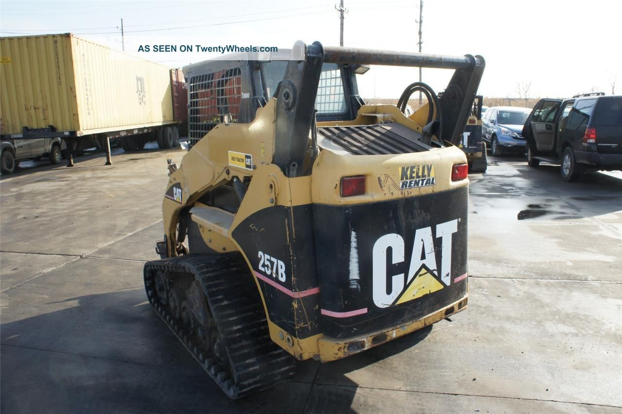 Cat Caterpillar 257b Track Skid Steer Multi Terrain