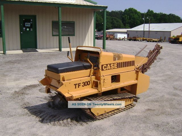 1996 Case Tf 300 Track Trencher