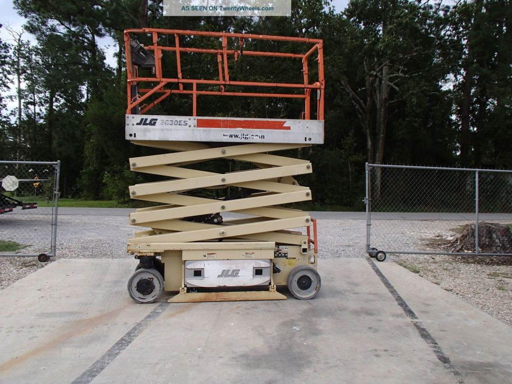 medium resolution of 2005 jlg 2630es electric scissor lift building construction home repair