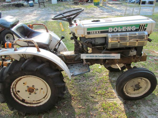 Bolens Mini Tractor - Year of Clean Water