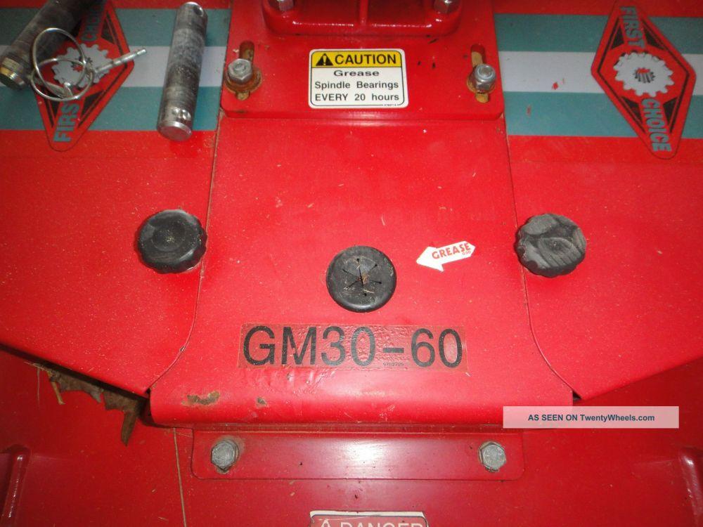 medium resolution of 2009 mahindra 2816 hst 4x4 w finish mower brush mower tiller box blade