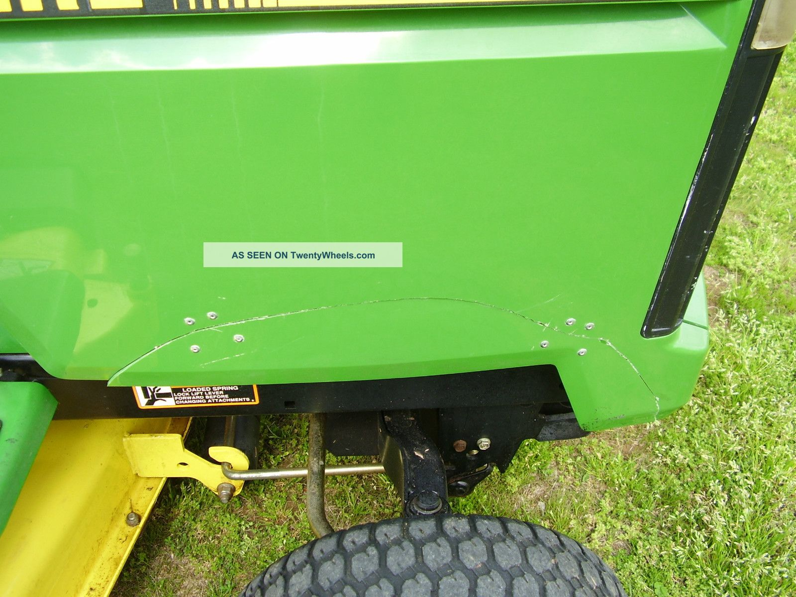 hight resolution of  john deere lx 173 riding mower tractors photo 4