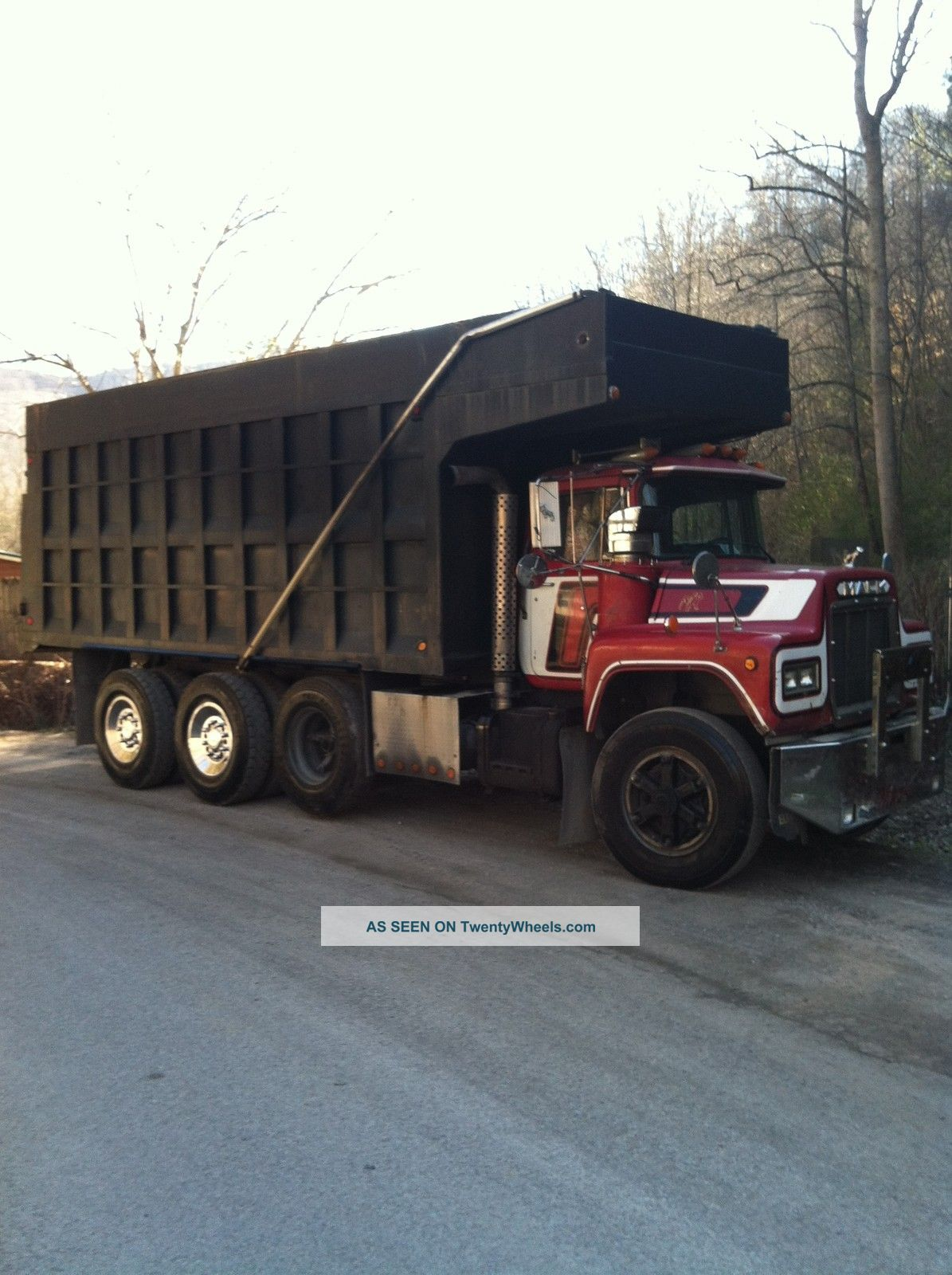 hight resolution of 1974 mack dm 600 dm 600 dump trucks photo