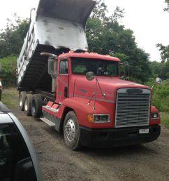 1990 freightliner dump truck [ 1200 x 1600 Pixel ]