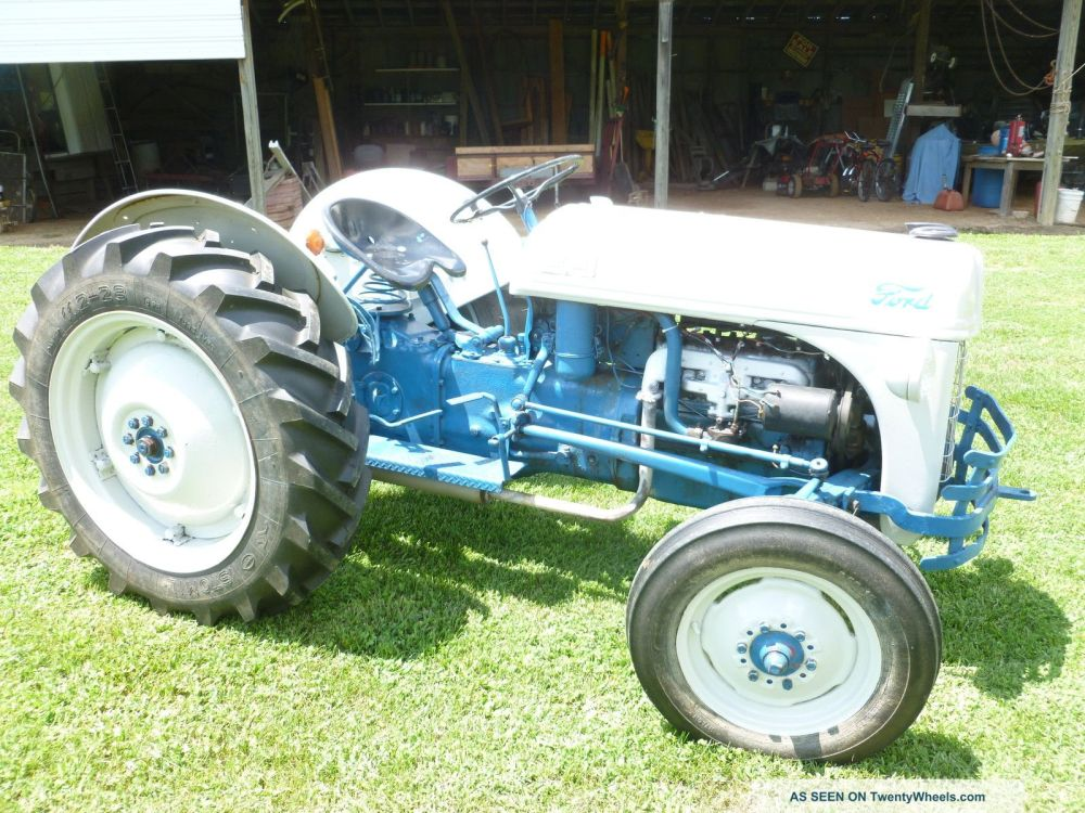 medium resolution of 1953 ford 8n tractor wiring