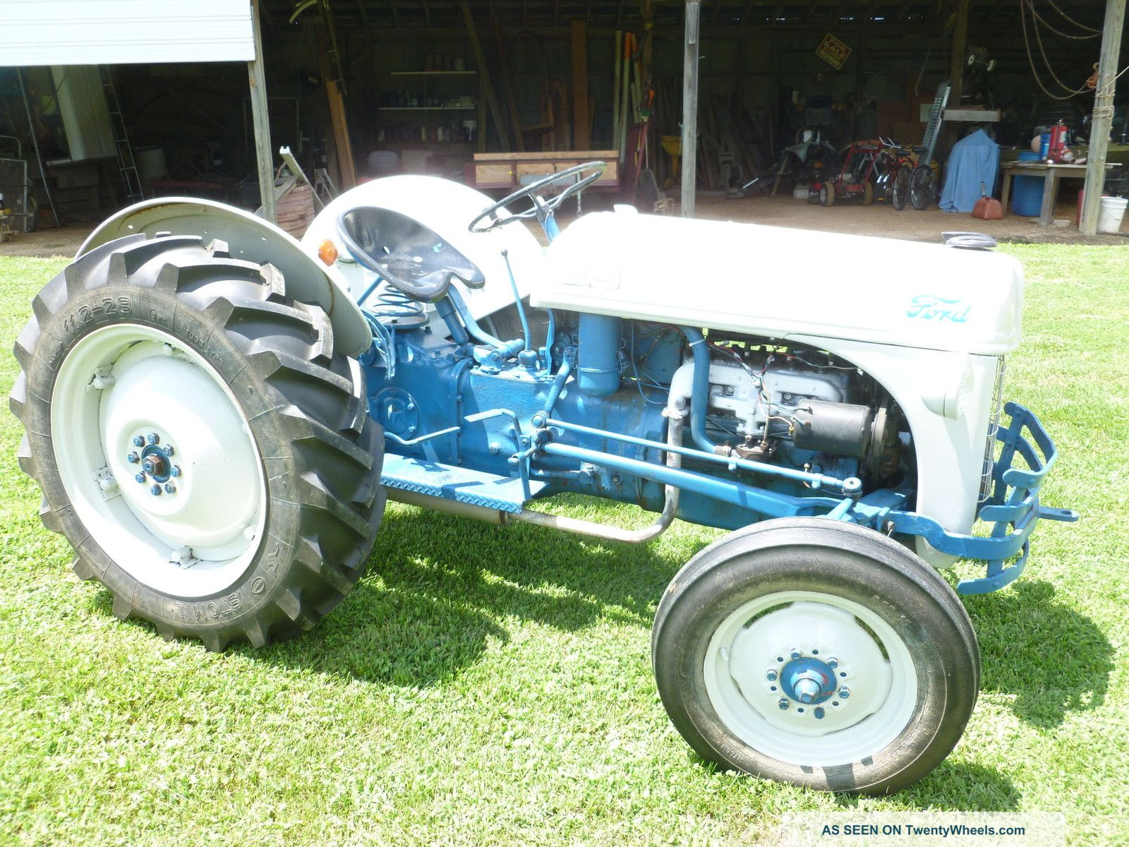 hight resolution of 1953 ford 8n tractor wiring