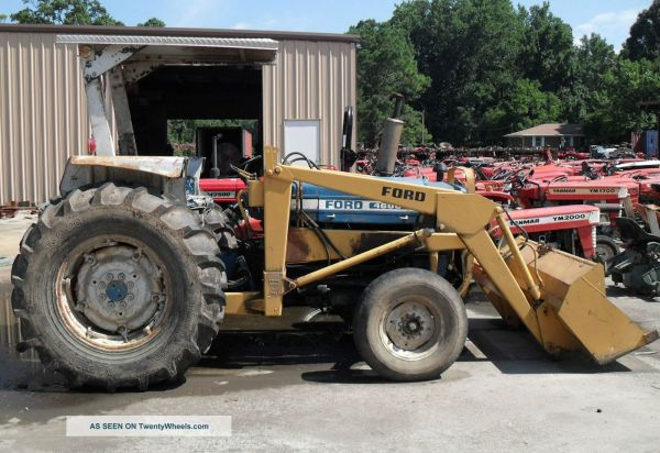 Ford Tractor Front End Loader Wi - Year of Clean Water