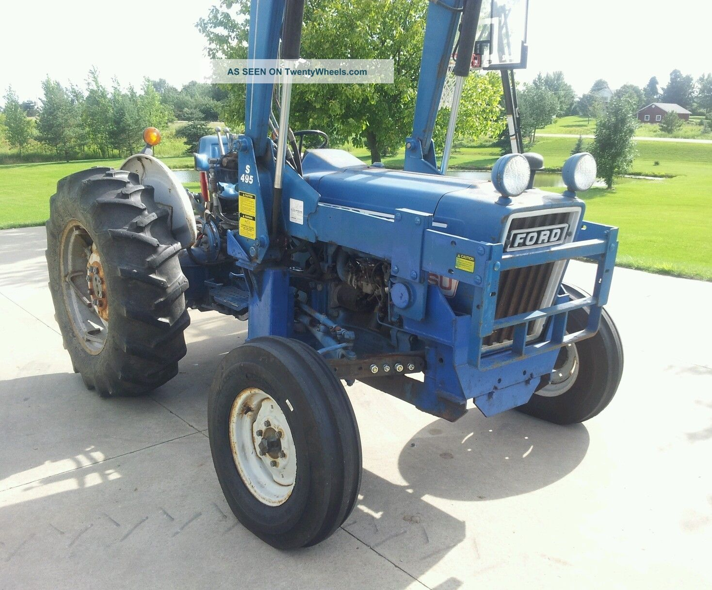 hight resolution of ford tractor 4600 su manual 1978 ford 4600 tractor