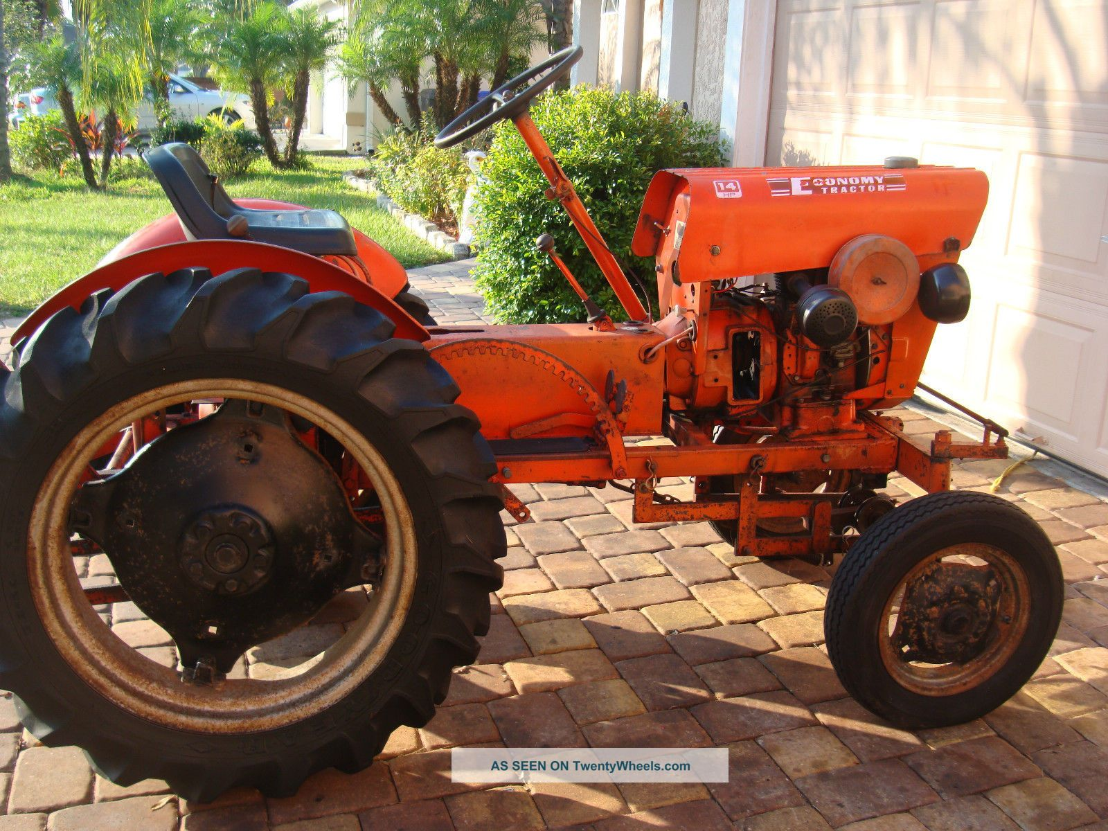 hight resolution of vine 1972 power king economy tractor