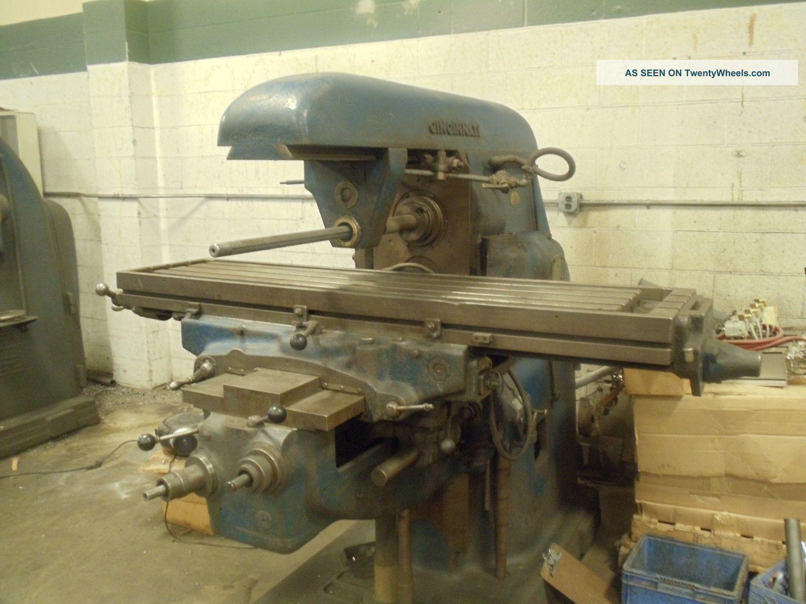 Cincinnati 2 Horizontal Milling Machine