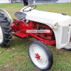 Ford 8n Tractor Briggs International 1950 With