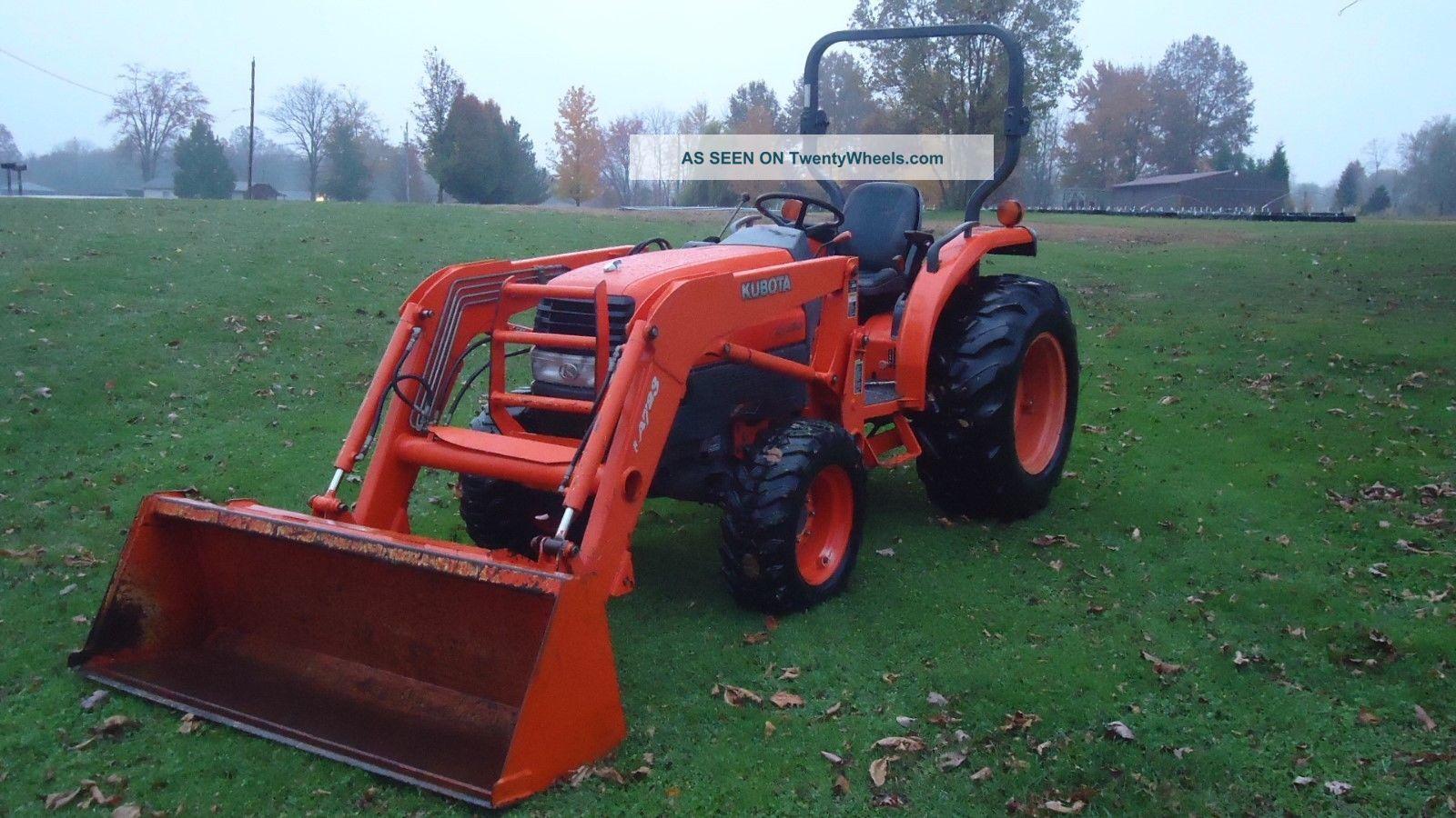 Kubotum L3130 Tractor - kubota l3130 lot 355 9th annual late
