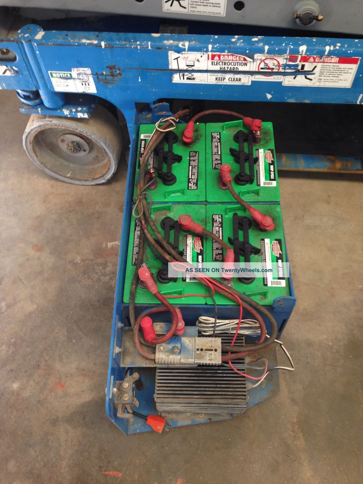 Upright Scissor Lift Battery Hook Up Auto Electrical Wiring Diagram EZ Wiring  Harness 2005 C4500 Wiring Diagram Battery