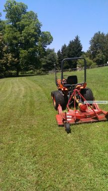 Kubota Finish Mower - Year of Clean Water