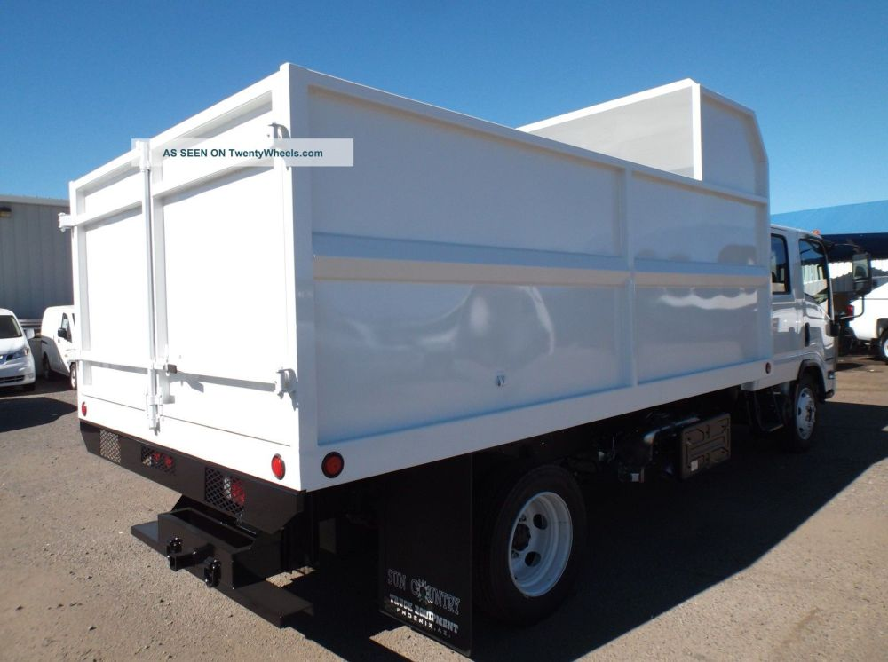 medium resolution of  2015 isuzu nqr crew cab dump trucks photo 11