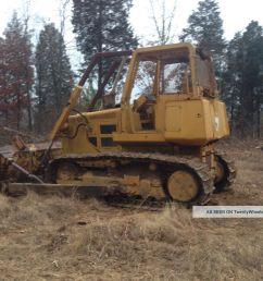 john deere 750b dozer crawler tractor 750 diesel w root rake limb risers [ 1600 x 1200 Pixel ]