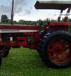 1971 ih farmall 656 gas tractor tractors photo 6  [ 1600 x 900 Pixel ]