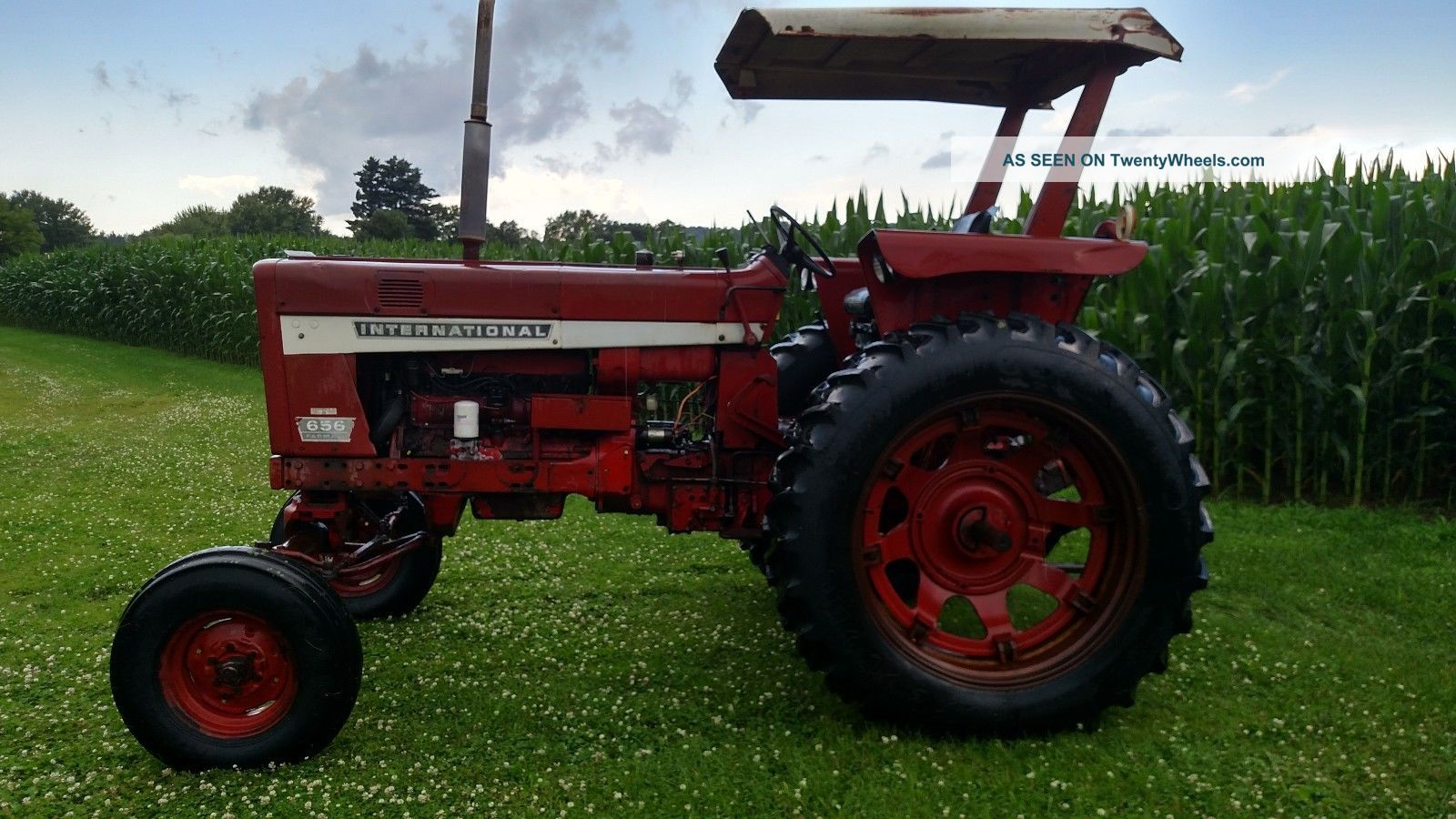 hight resolution of 1971 ih farmall 656 gas tractor tractors photo 6