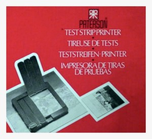 Test strip maker
