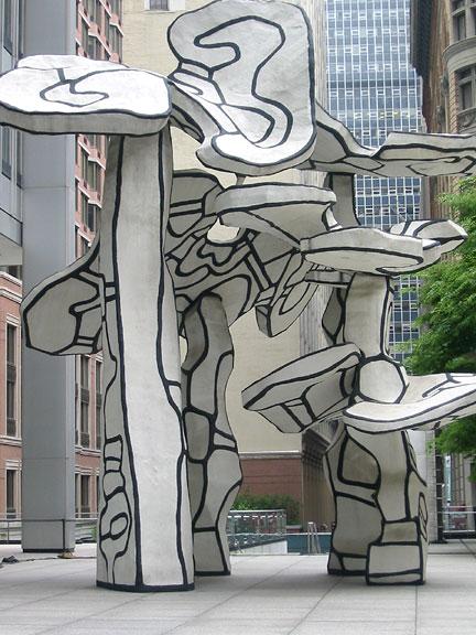 Dubuffet, Chase Manhattan Plaza
