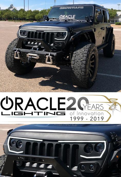 Fastest Jeep Wrangler : fastest, wrangler, Oracle, Lighting, Debuts, Vector, ProSeries, Grille, Wrangler, Gladiator, TWICE