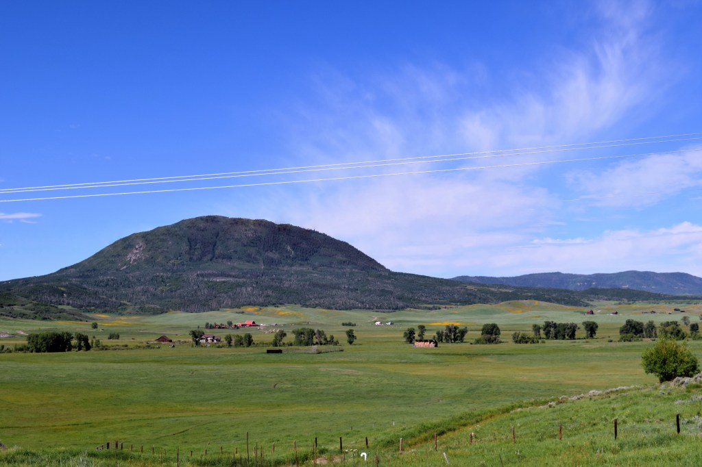 Ranches north of steamboat