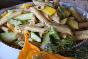 Zucchini Carbonara