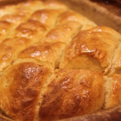 Herby Pull-Apart Bread