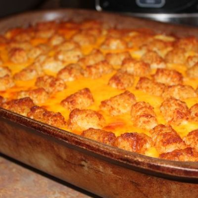 Because They Love It So … Tater Tot Casserole