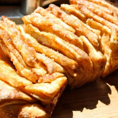 Cinnamon Browned-Butter Pull-Apart Loaf